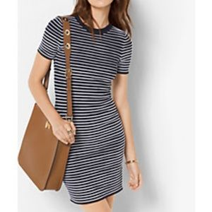 Michael Kors Striped Shirt Dress - New with Tags